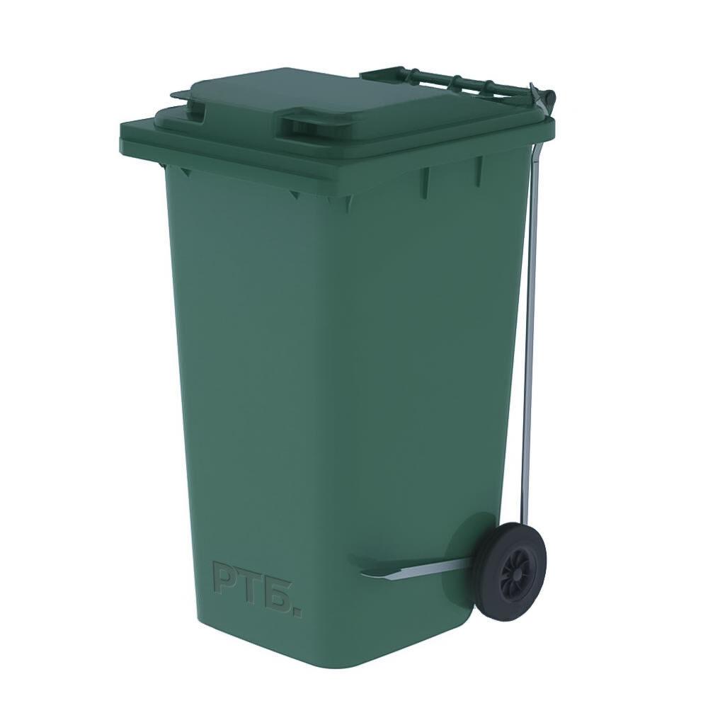 Мусорный контейнер 240 литров с педалью