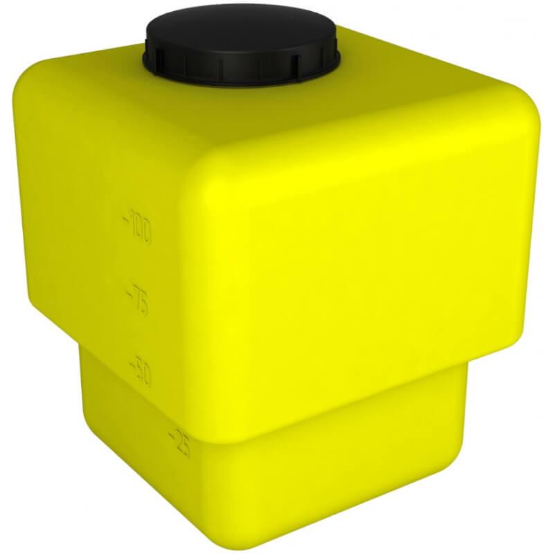 Бак промывной AGRO 120 желтый
