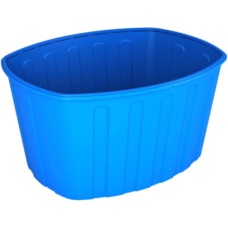 Ванна 1000 синяя