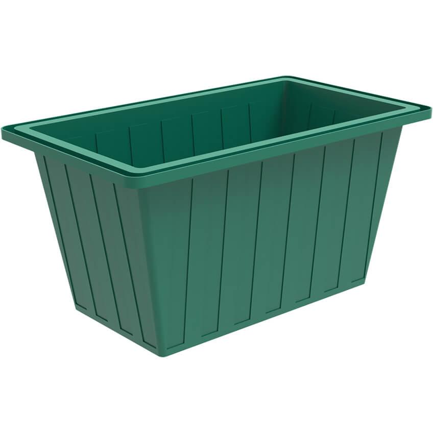 Ванна К 400 зеленая