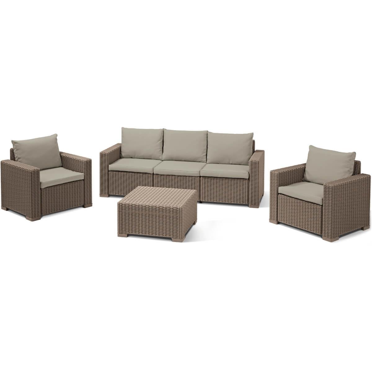 Комплект мебели Allibert Комплект мебели Allibert California 3 Seater 17198931