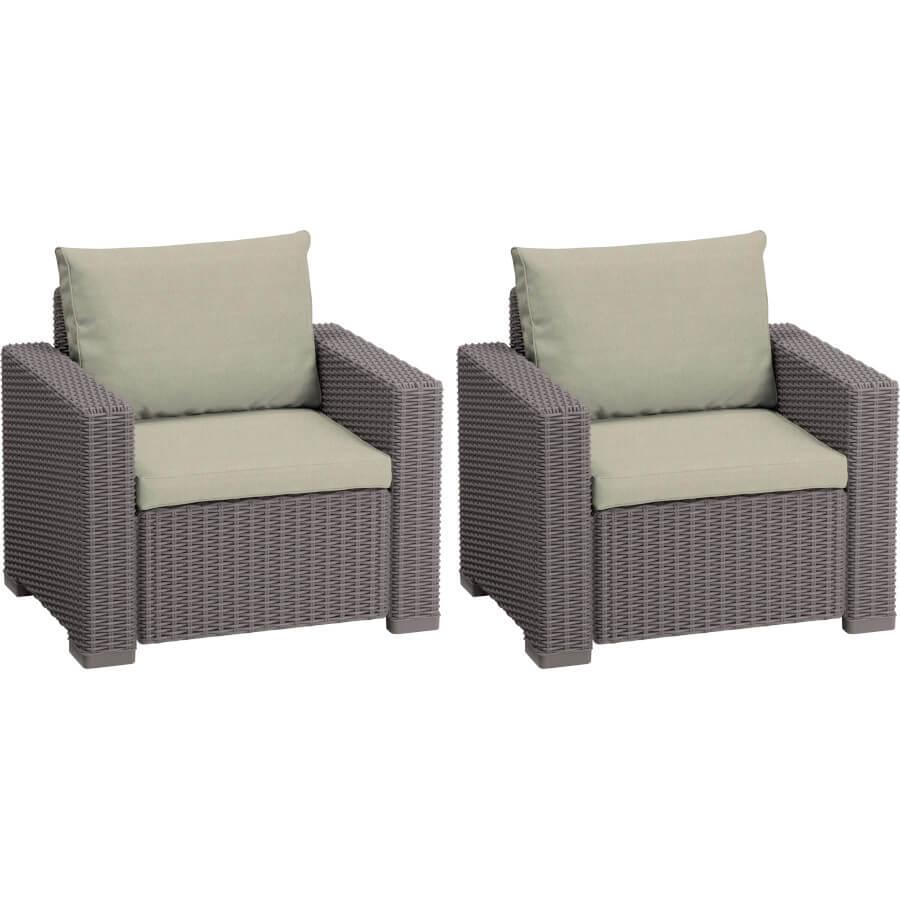 Комплект мебели Allibert California Duo Armchair 17193538