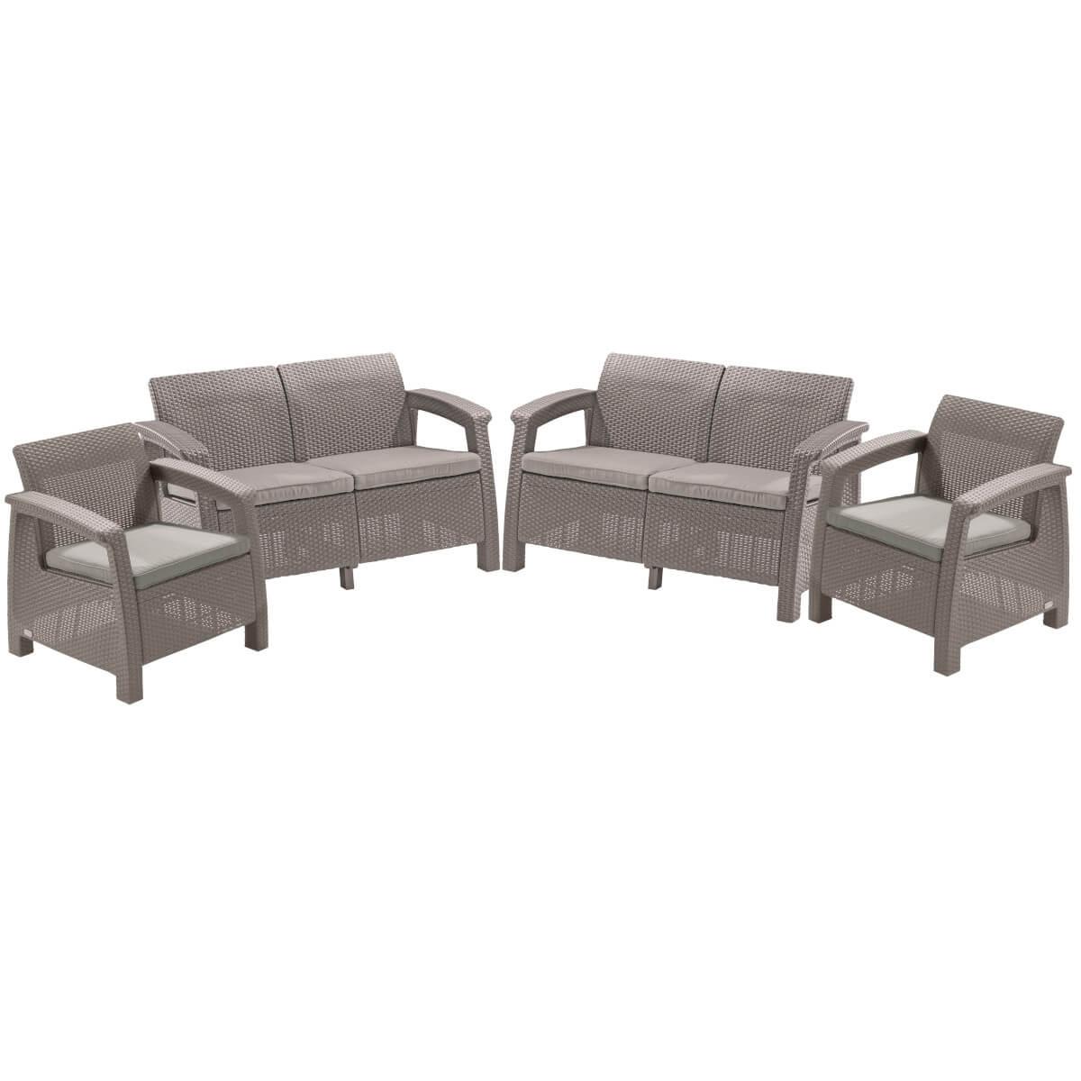 Комплект мебели KETER Corfu Rest 17208436