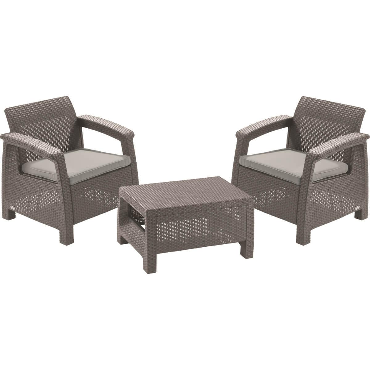 Комплект мебели Allibert Corfu Weekend 17197786