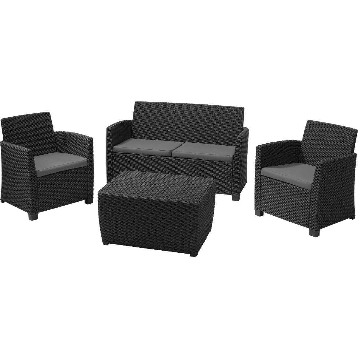 Комплект мебели Allibert Corfu Box 17200180