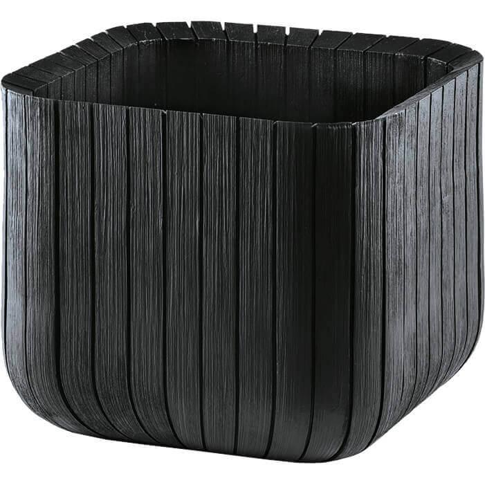Большое напольное кашпо Keter Cube PlanterM