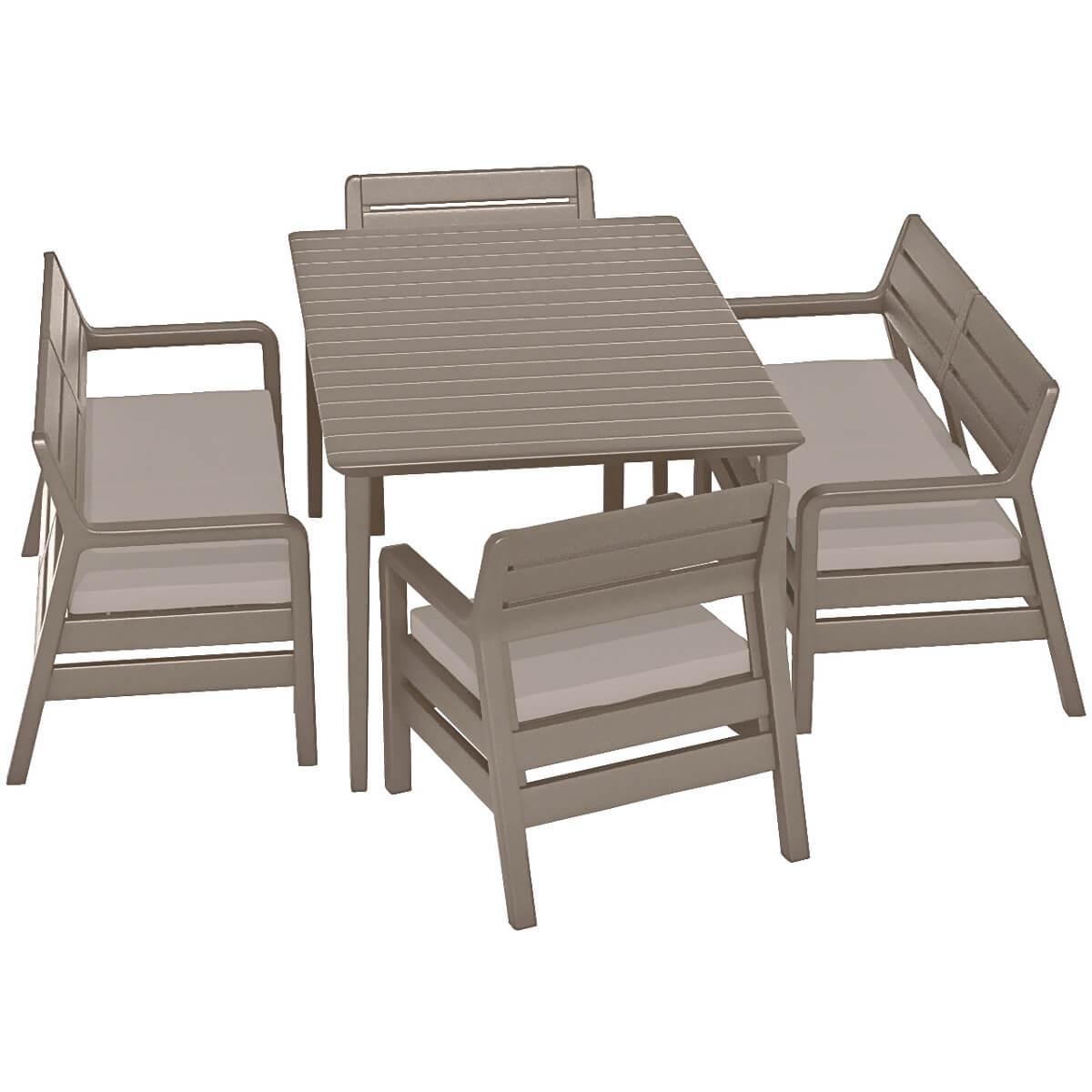 Комплект мебели Allibert Delano 17201088