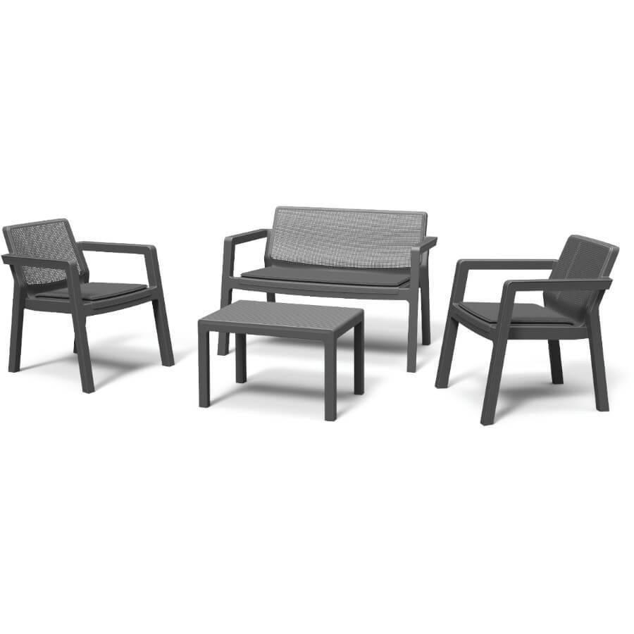 Комплект мебели Keter Emily Patio Set с подушками