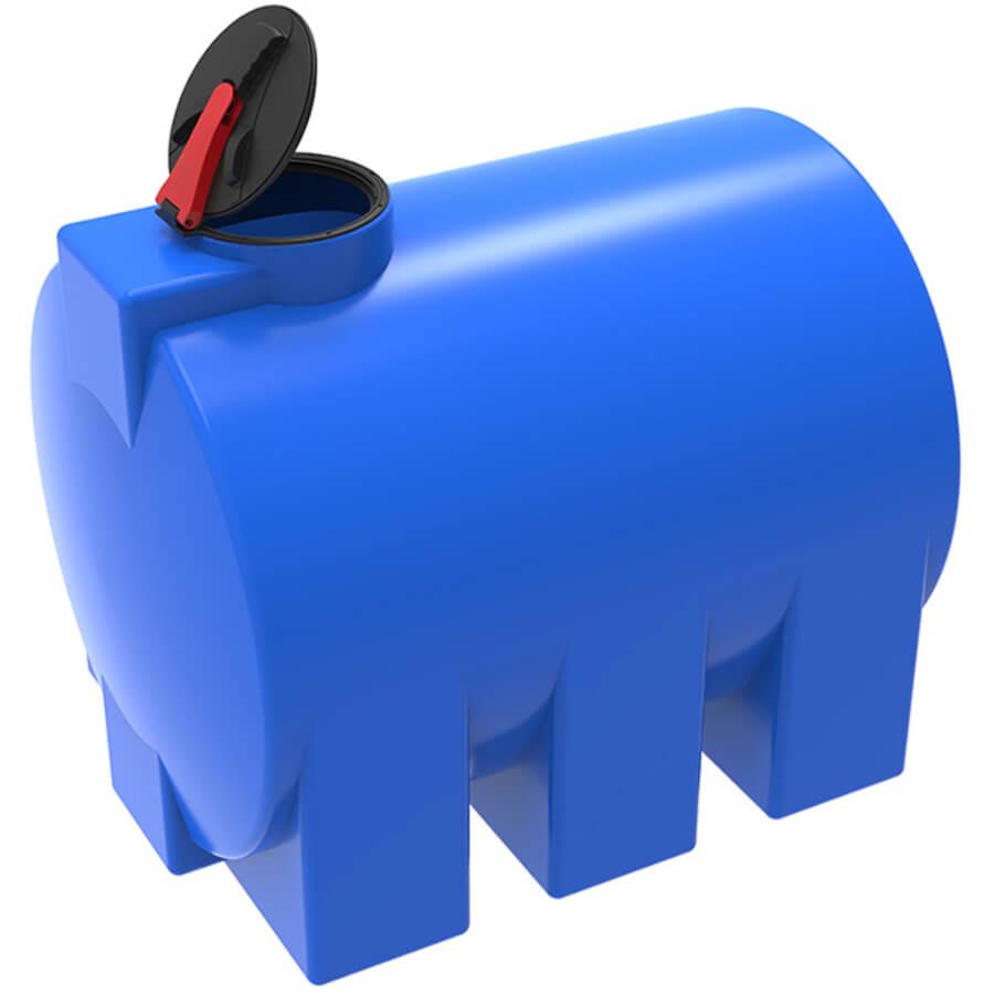 Емкость ЭВГ 3000 синяя с откидной крышкой