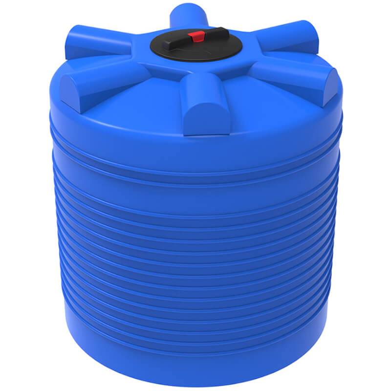 Емкость ЭВЛ 1000 синяя с усиленной стенкой