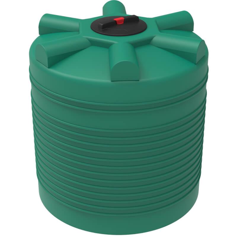 Емкость ЭВЛ 1000 зеленая