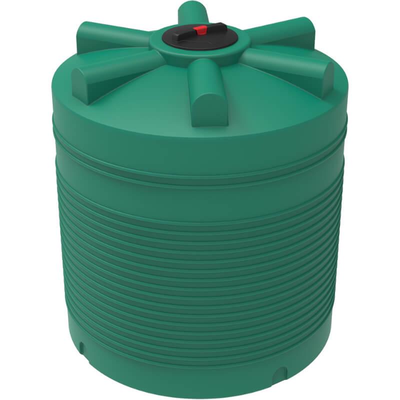 Емкость ЭВЛ 2000 зеленая