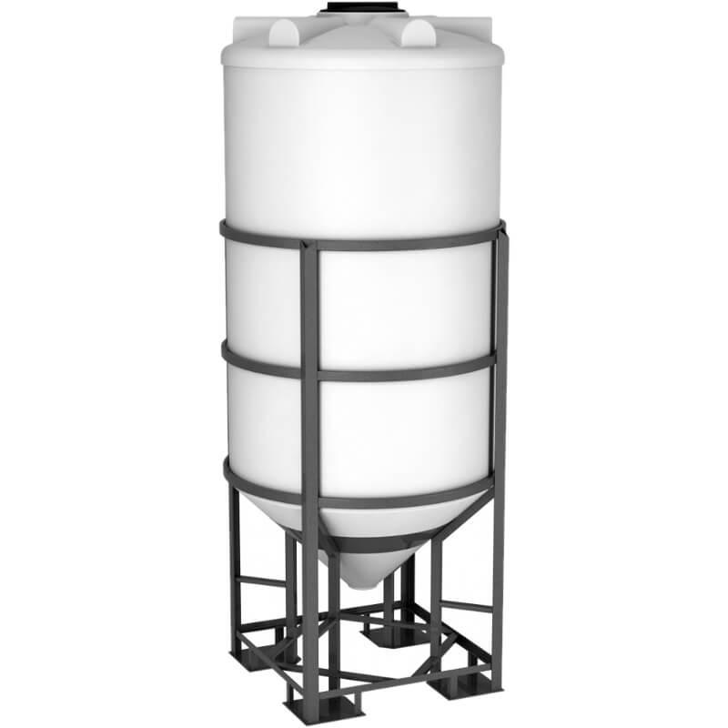 Емкость ФМ 2000 белая в обрешетке