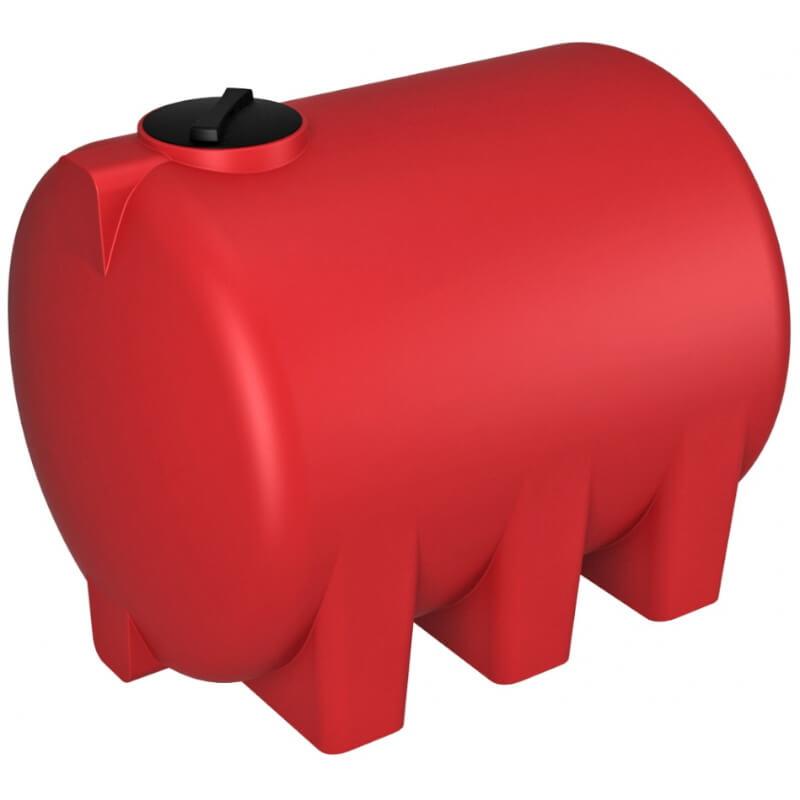 Емкость КАС 5000 H красная