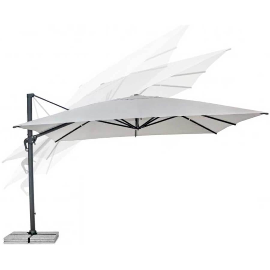Зонт 4villa Лацио 400 см молочный