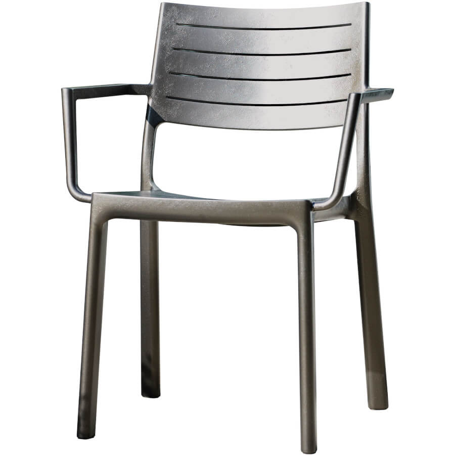 Стул Keter Metaline Armrest 17209787