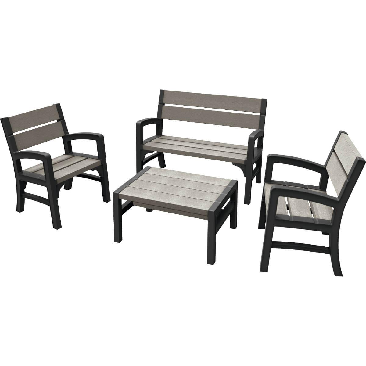 Комплект мебели Keter Montero 17205049