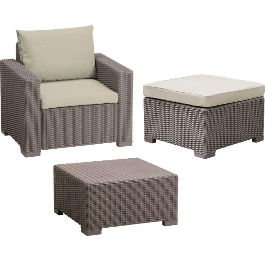 Комплект мебели Allibert Moorea Table 17200418