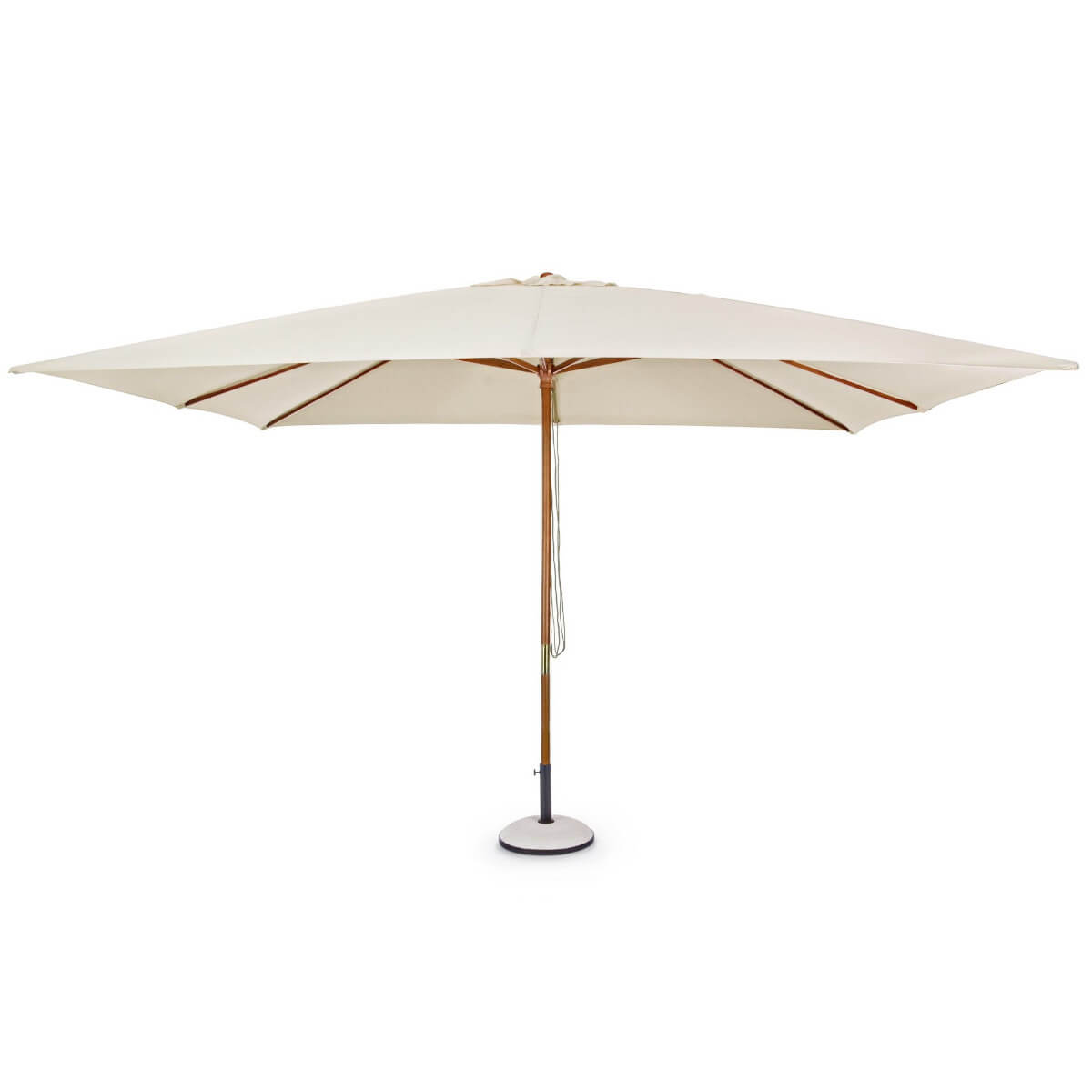 Зонт 4villa Неаполь 300 см бежевый