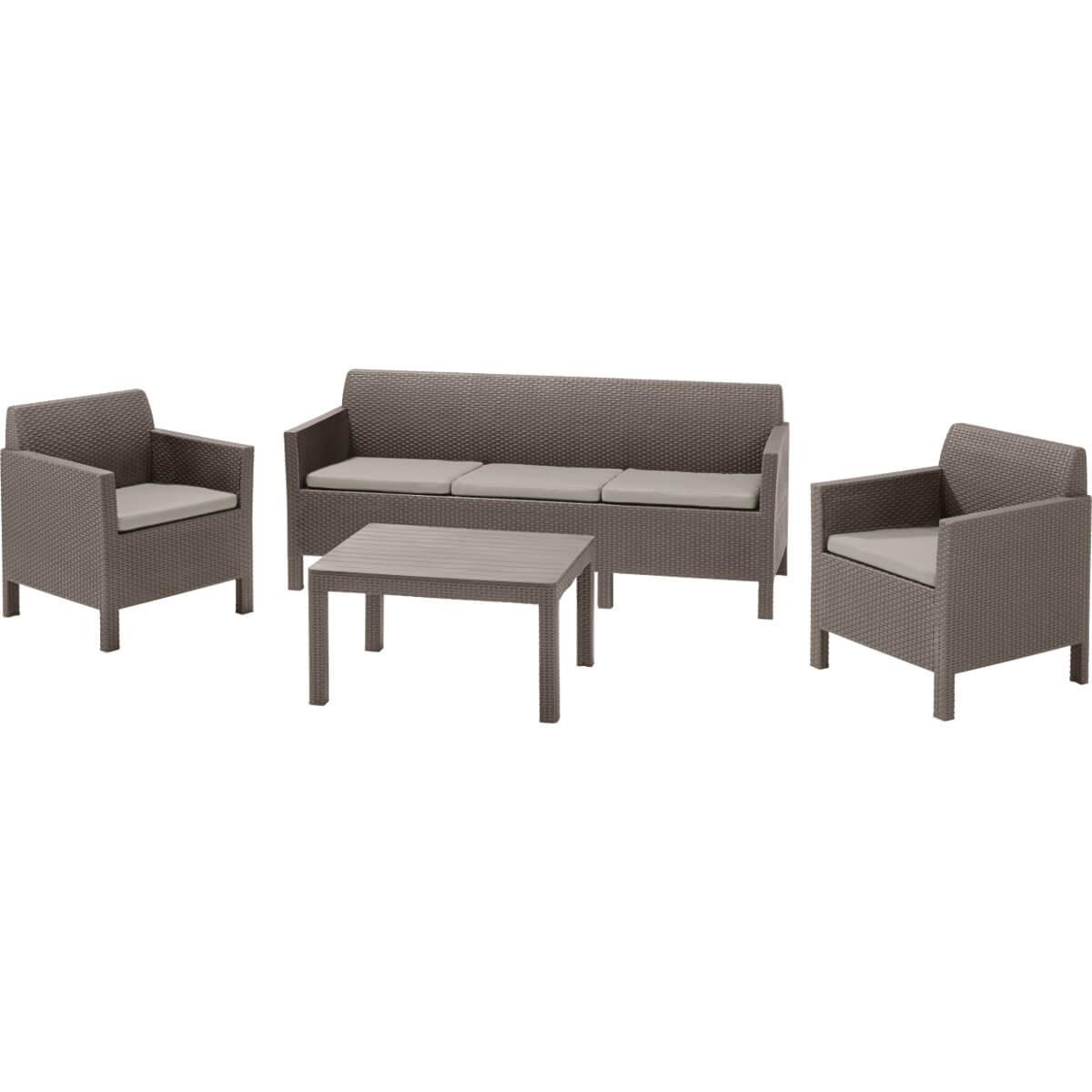 Комплект мебели Allibert Orlando 3 Seater 17202802