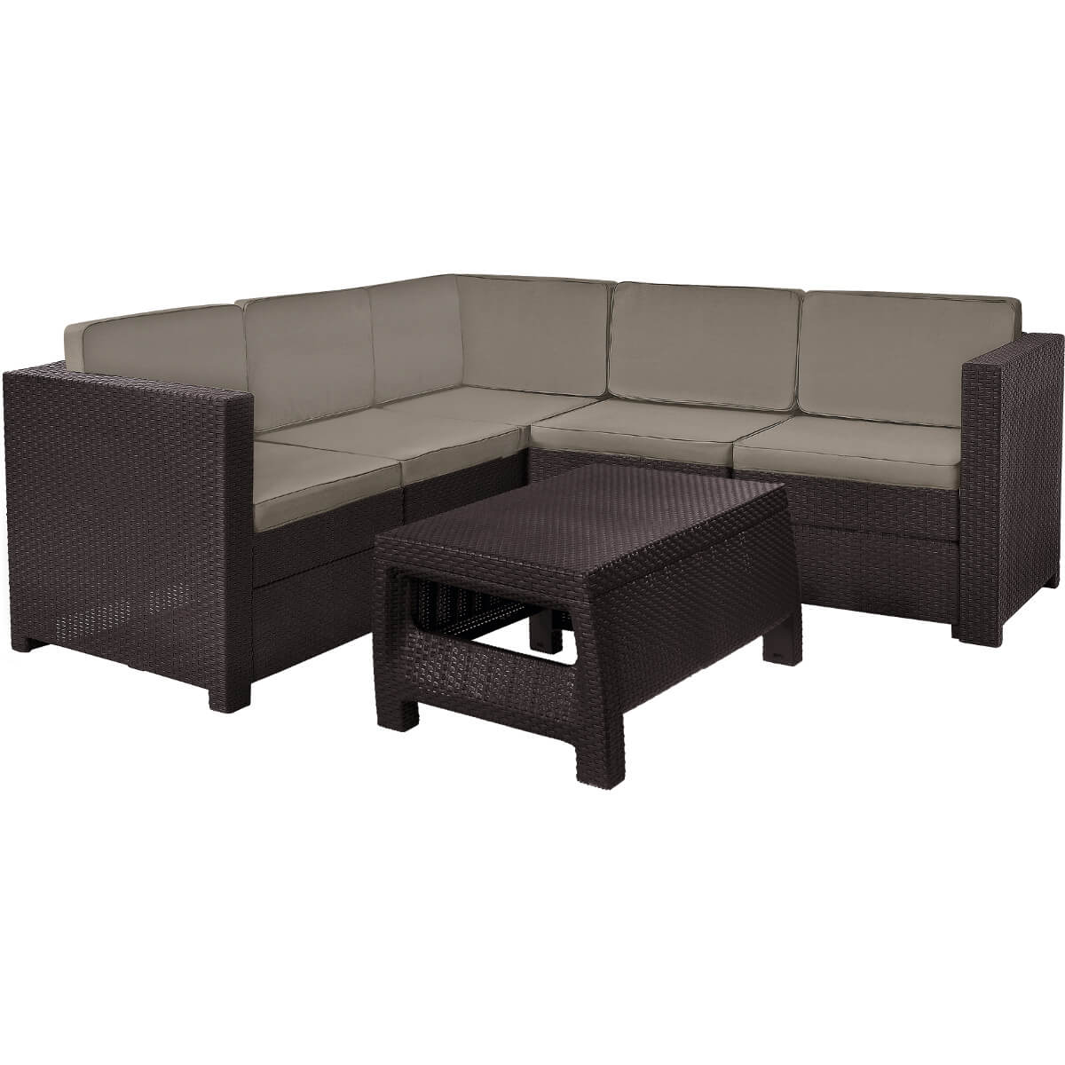 Угловой комплект мебели Keter Provence 17204454