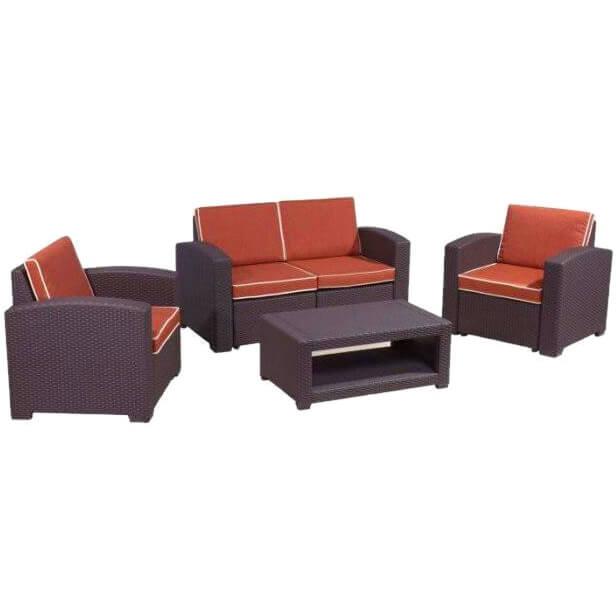 Комплект мебели Rattan Premium 4