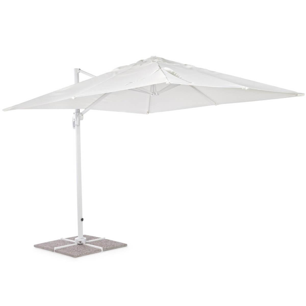 Зонт 4villa Рим 300 см белый