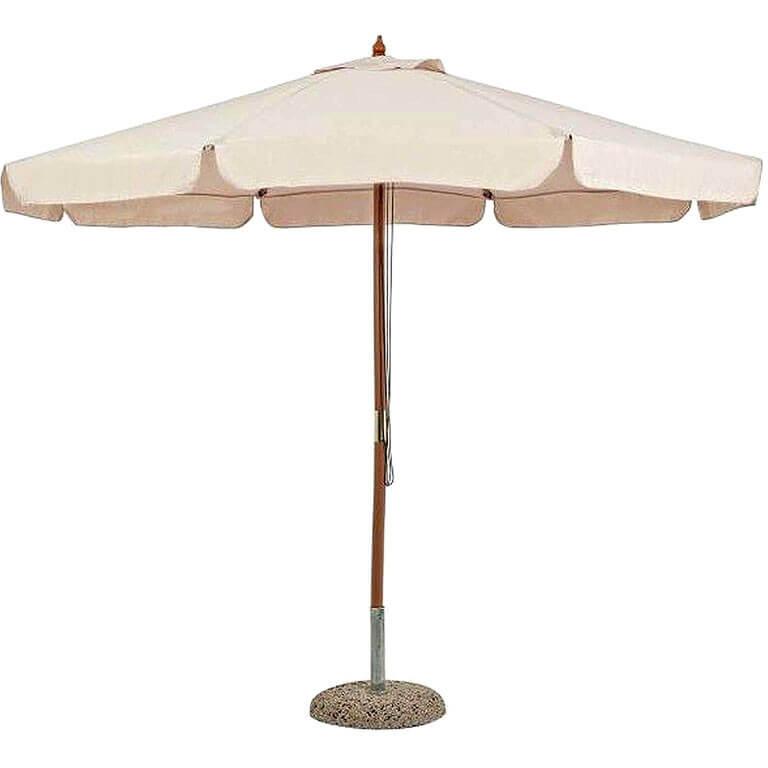 Зонт 4villa Римини 250 см бежевый
