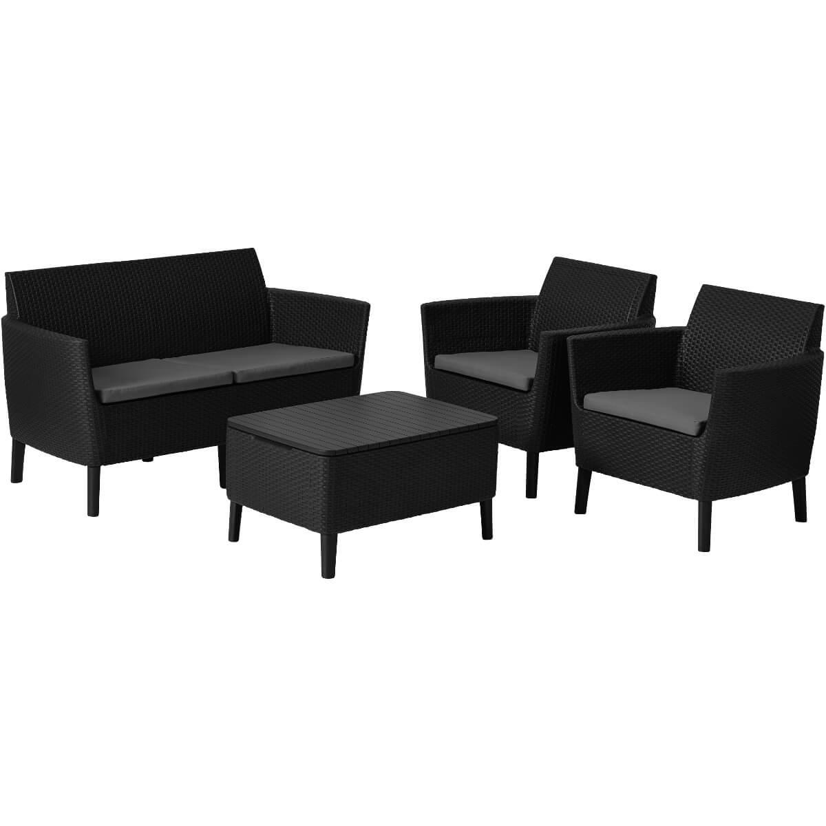 Комплект мебели Allibert Salemo 17206003