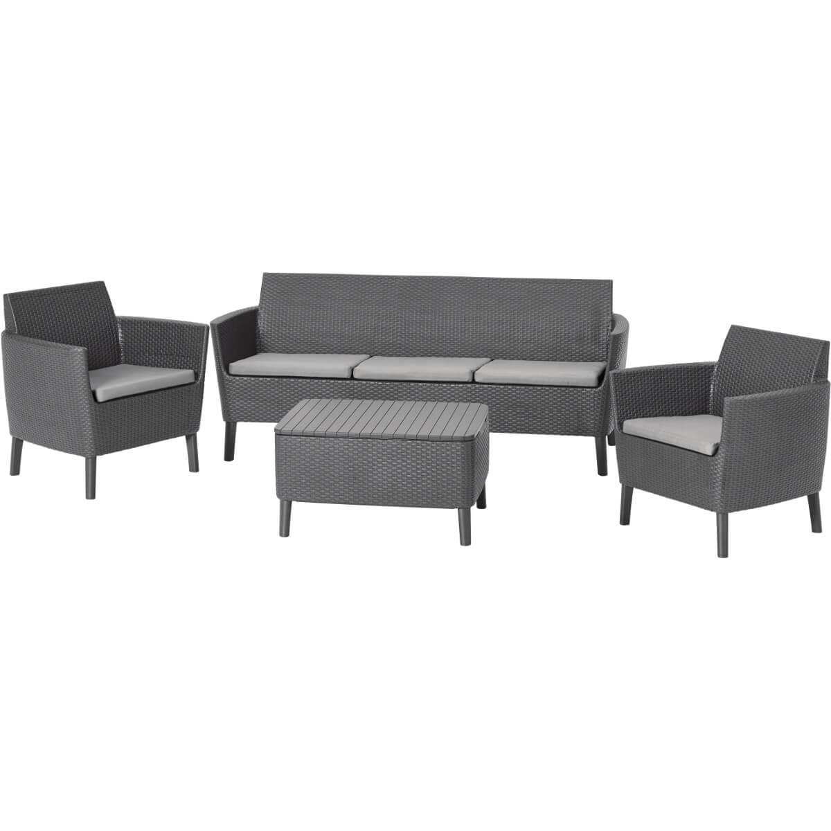Комплект мебели Allibert Salemo 3 Seater 17205990