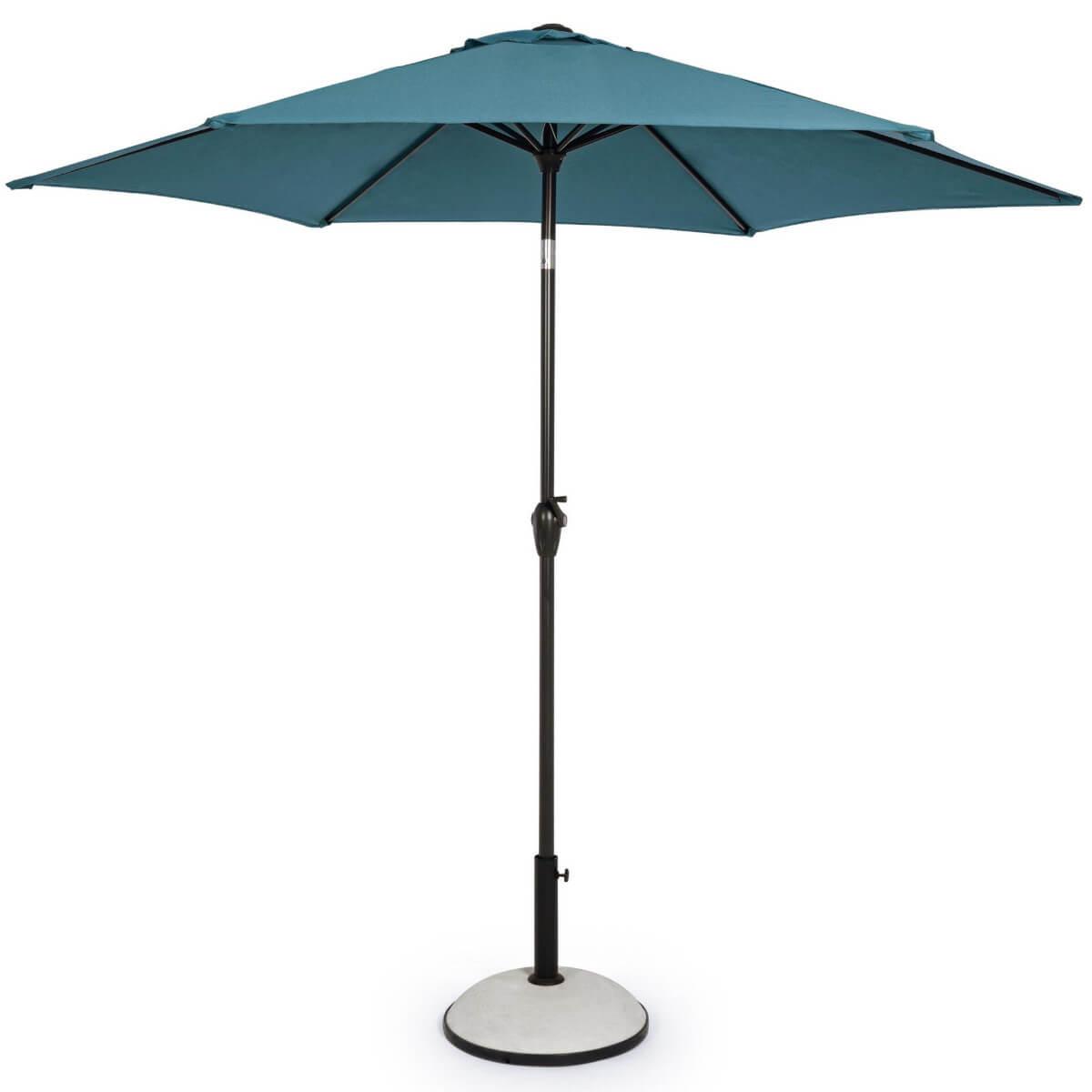 Зонт 4villa Салерно 270 см бирюзовый
