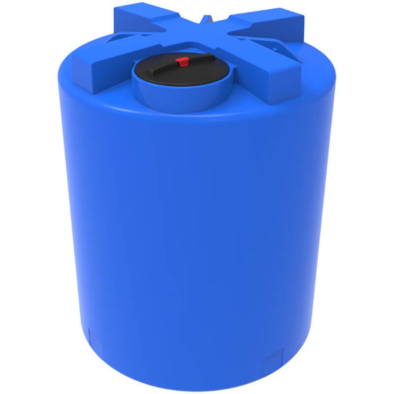 Емкость T 3000 синяя с усиленной стенкой