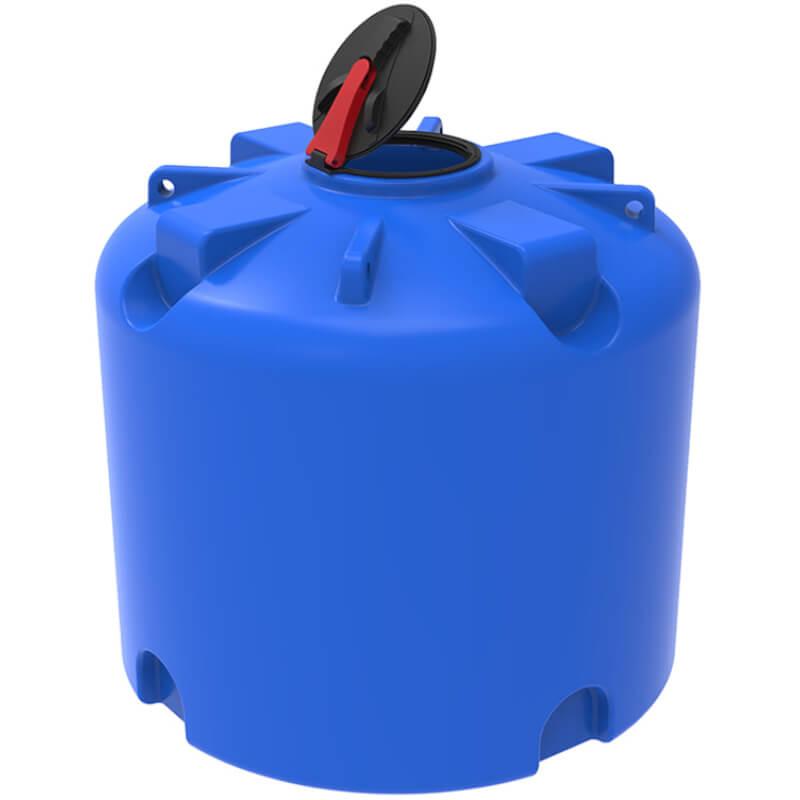 Емкость TR 3000 синяя с откидной крышкой