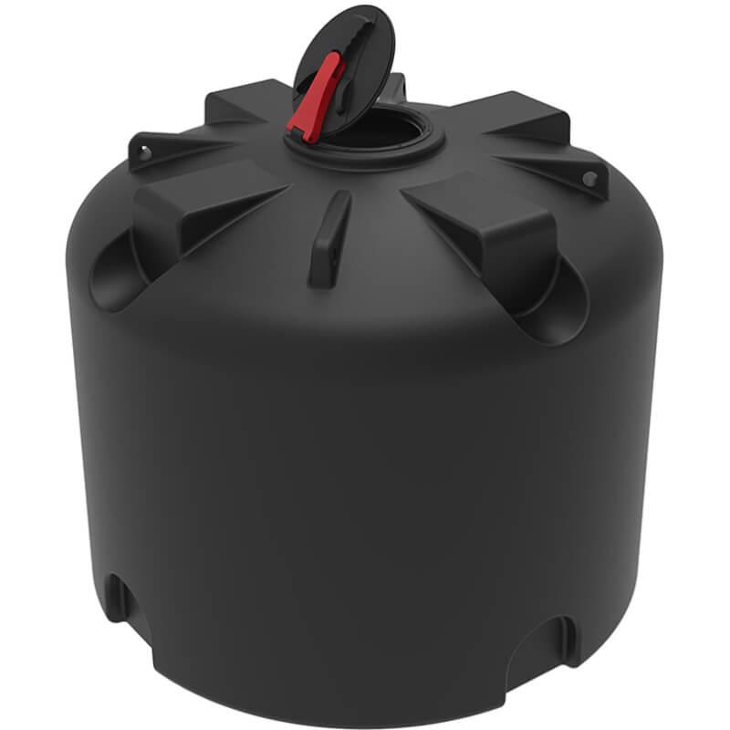 Емкость TR 4500 черная с откидной крышкой