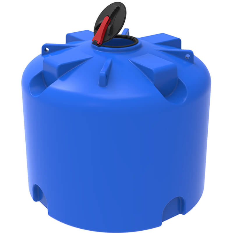 Емкость TR 4500 синяя с откидной крышкой, усиленная