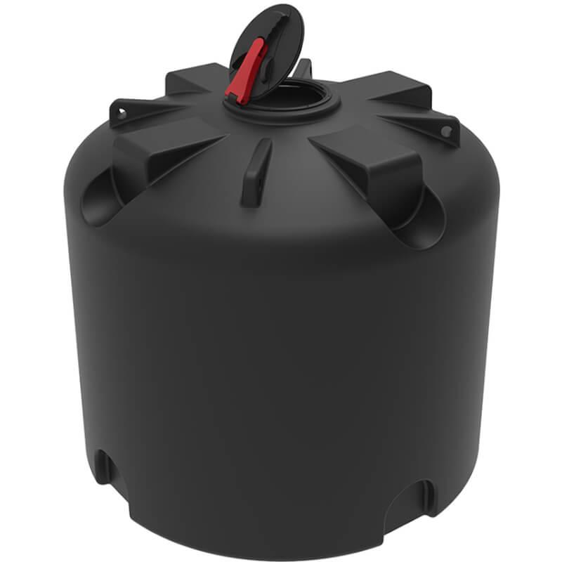 Емкость TR 5000 черная с откидной крышкой