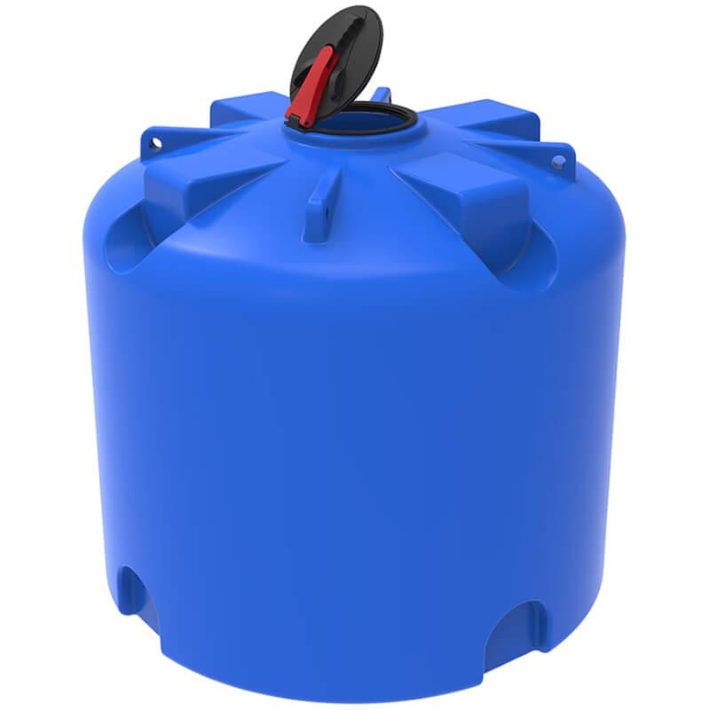 Емкость TR 5000 синяя с откидной крышкой, усиленная