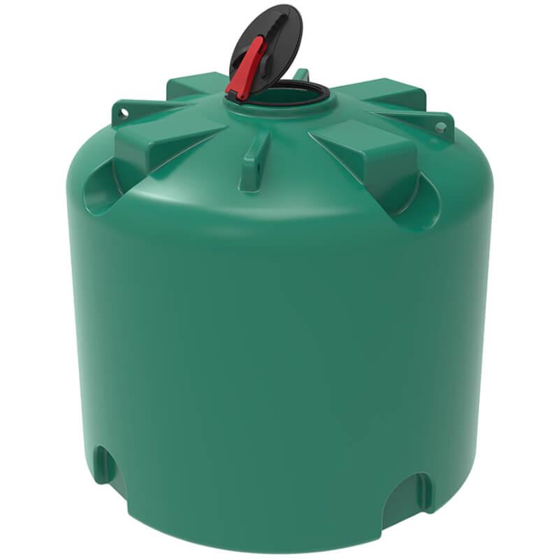 Емкость TR 5000 зеленая с откидной крышкой