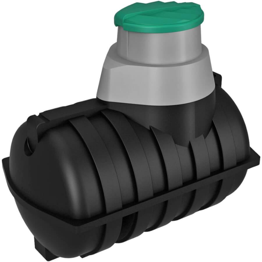 Емкость подземная U 2000 oil черная