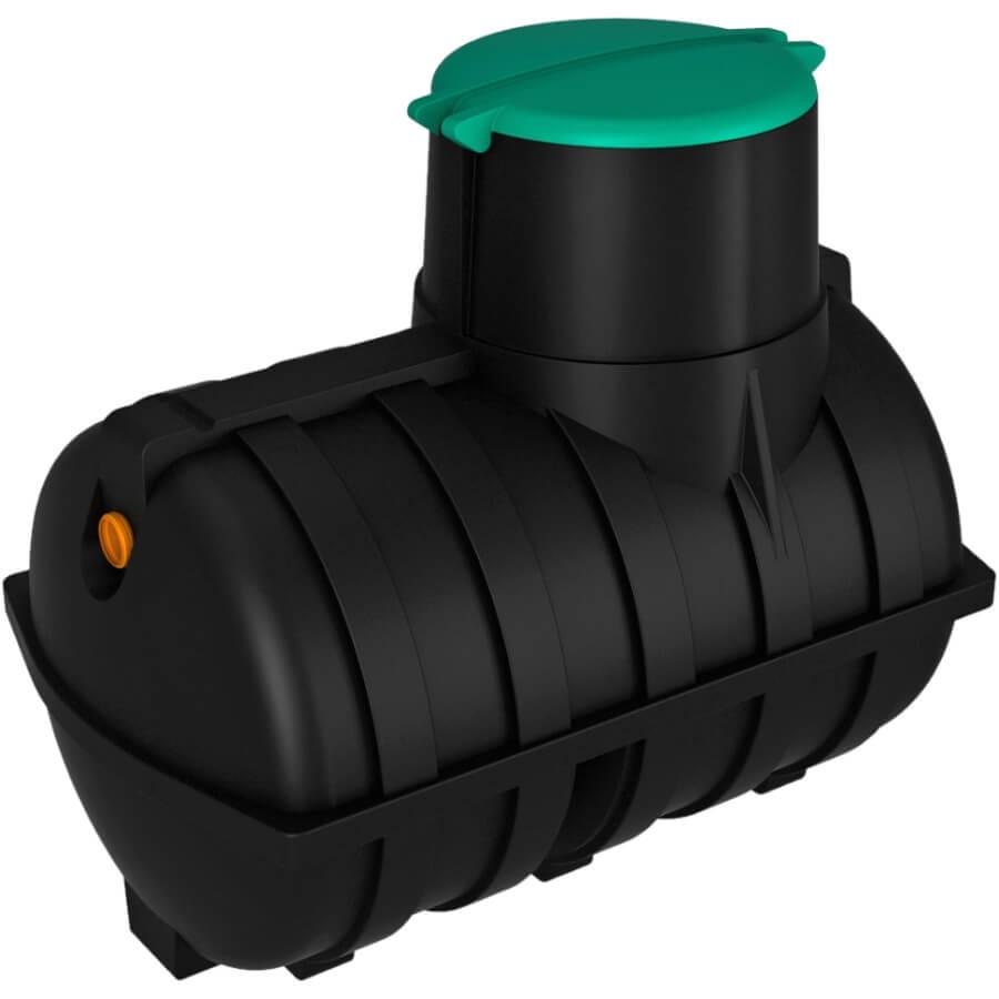 Емкость подземная U 3000 с выходом черная