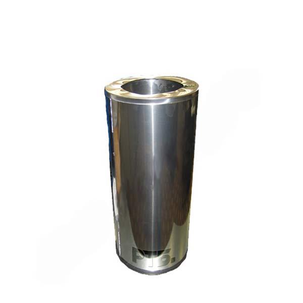 Урна У-300НН 51 литр, без пепельницы, с крышкой