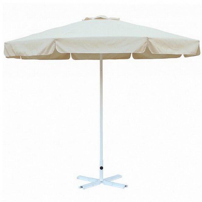 Зонт 4villa Верона 270 см с воланом бежевый