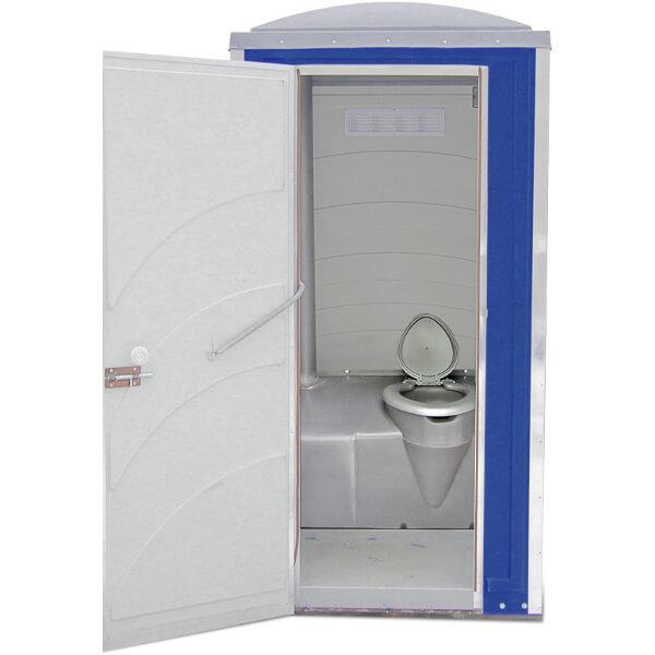 Туалетная кабина Зимняя А10 синяя