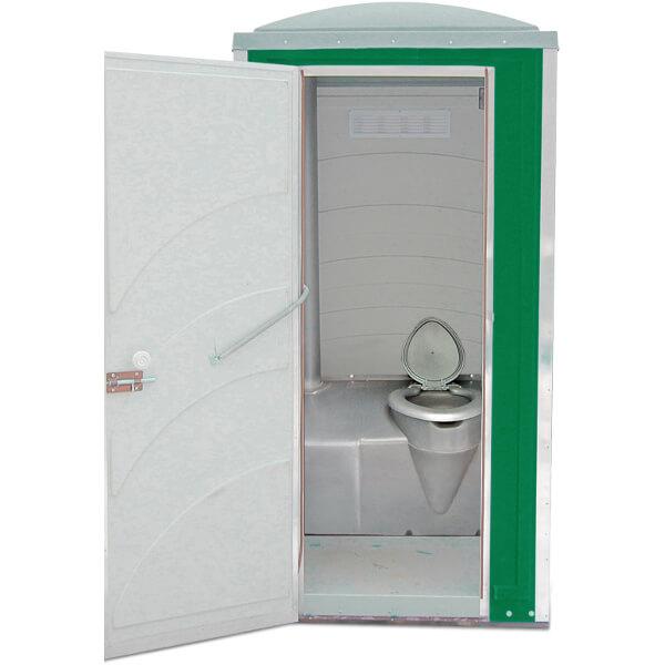 Туалетная кабина Зимняя А10 зелёная