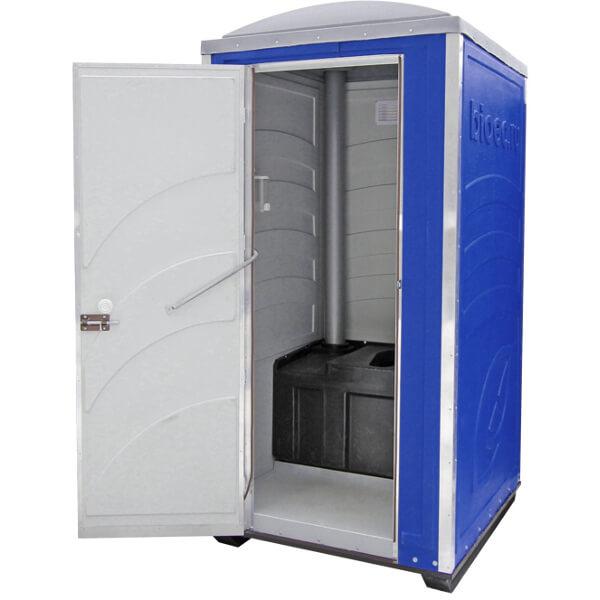 Туалетная кабина Зимняя А20 синяя
