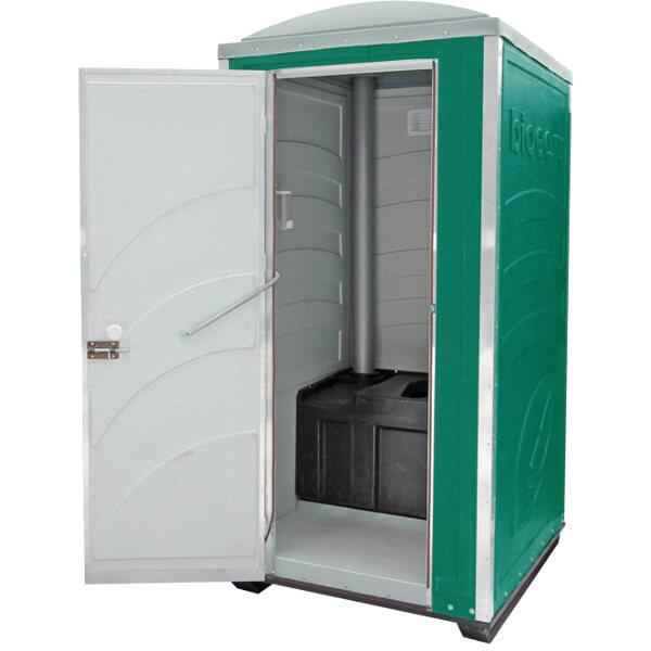 Туалетная кабина Зимняя А20 зелёная