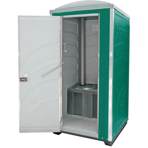 Туалетная кабина Зимняя А30 зелёная